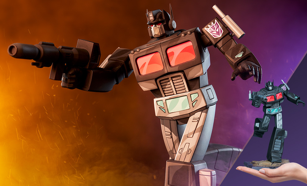 Gallery Feature Image of Nemesis Prime Statue - Click to open image gallery