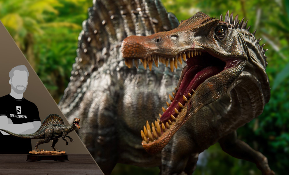 Gallery Feature Image of Spinosaurus Statue - Click to open image gallery