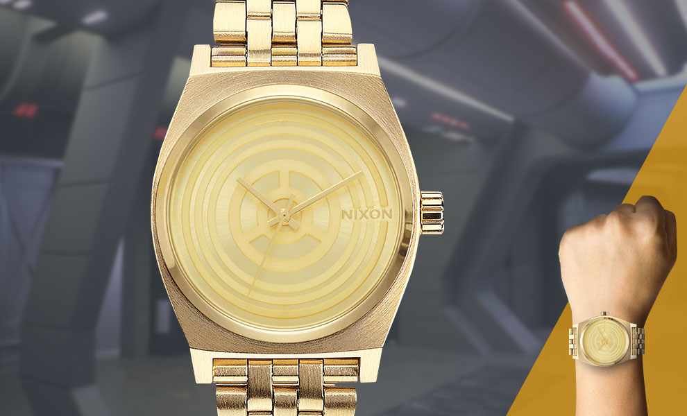 Gallery Feature Image of C-3PO Gold Watch Jewelry - Click to open image gallery