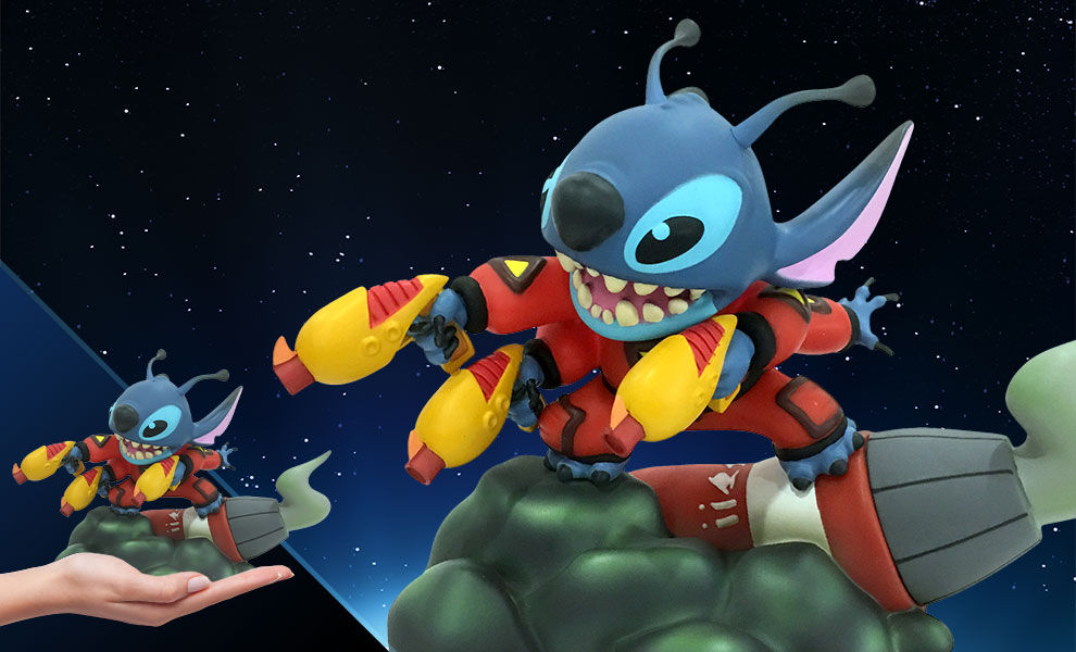 Gallery Feature Image of Stitch Vinyl Collectible - Click to open image gallery