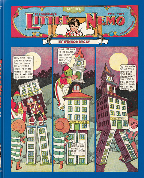 TASCHEN Winsor McCay, The Complete Little Nemo 1910-1927 Book