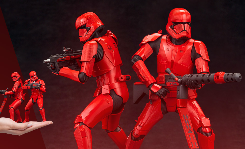 Gallery Feature Image of Sith Trooper (Two-Pack) 1:10 Scale Statue - Click to open image gallery