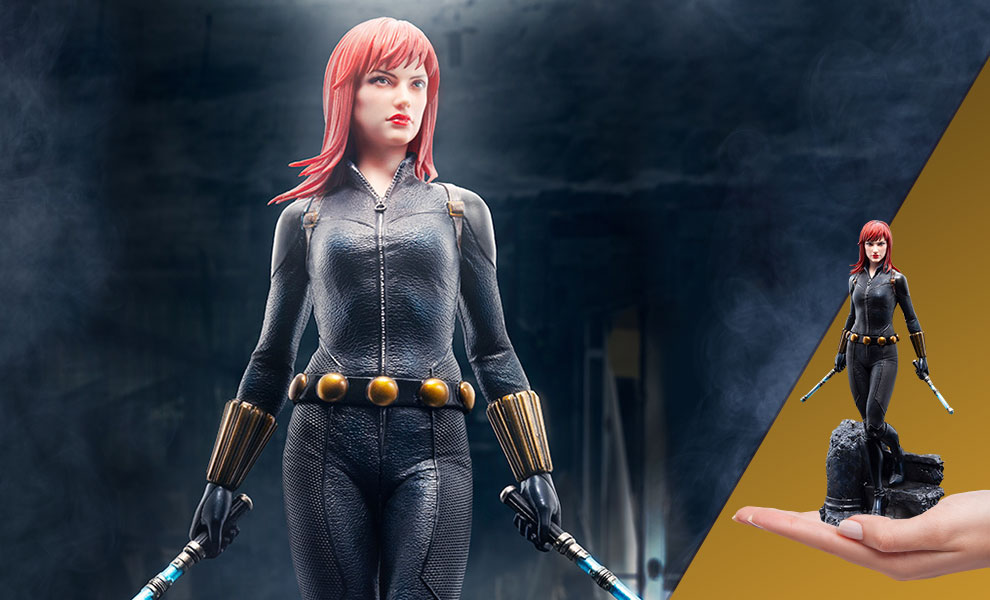 Gallery Feature Image of Black Widow 1:10 Scale Statue - Click to open image gallery