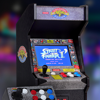 Street Fighter Ii Champion Edition Replicade Replica Arcade