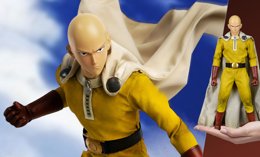Gallery Feature Image of Saitama Sixth Scale Figure - Click to open image gallery