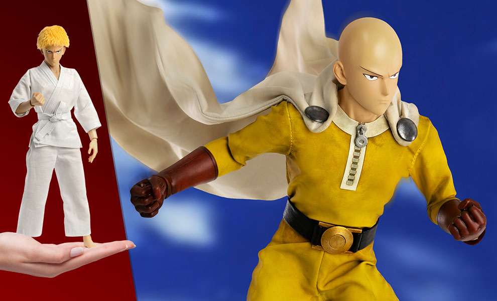 Gallery Feature Image of Saitama (Deluxe Version) Sixth Scale Figure - Click to open image gallery