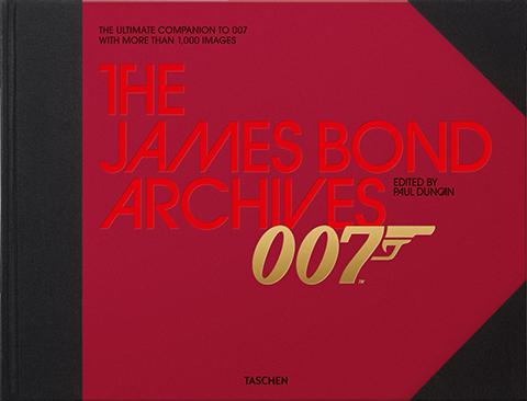 TASCHEN James Bond Archives Book
