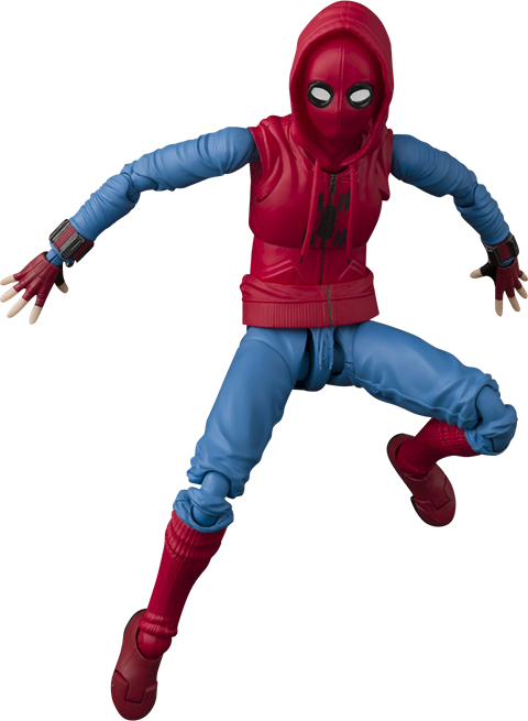 Bandai Spider-Man (Home Made Suit Version) Collectible Figure