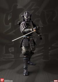 Gallery Image of Onmitsu Black Spider-Man Collectible Figure