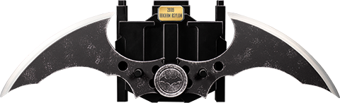 Ikon Design Studio Batman: Arkham Asylum (2009) Metal Batarang Replica