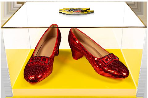 Ikon Design Studio Dorothy's Ruby Slippers (Yellow Brick Road Edition) Replica