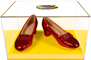 Dorothy's Ruby Slippers (Yellow Brick Road Edition) Replica