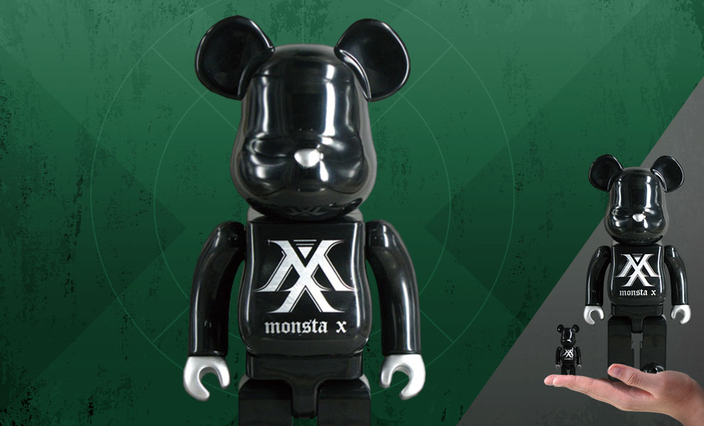 Gallery Feature Image of Be@rbrick Monsta X 100% & 400% Collectible Set - Click to open image gallery