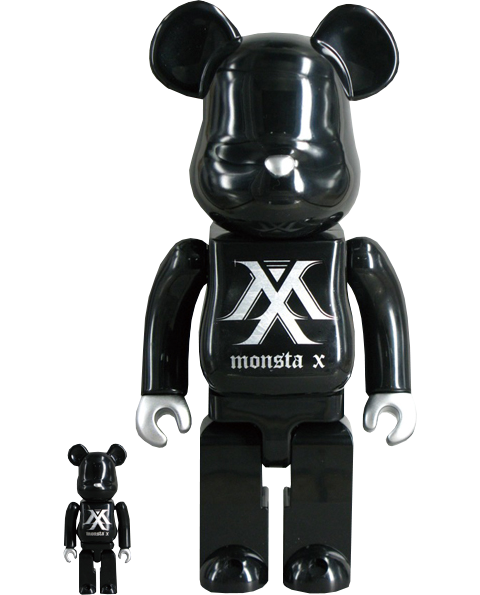 Medicom Toy Be@rbrick Monsta X 100% & 400% Collectible Set