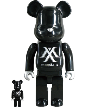 Be@rbrick Monsta X 100% & 400% Collectible Set