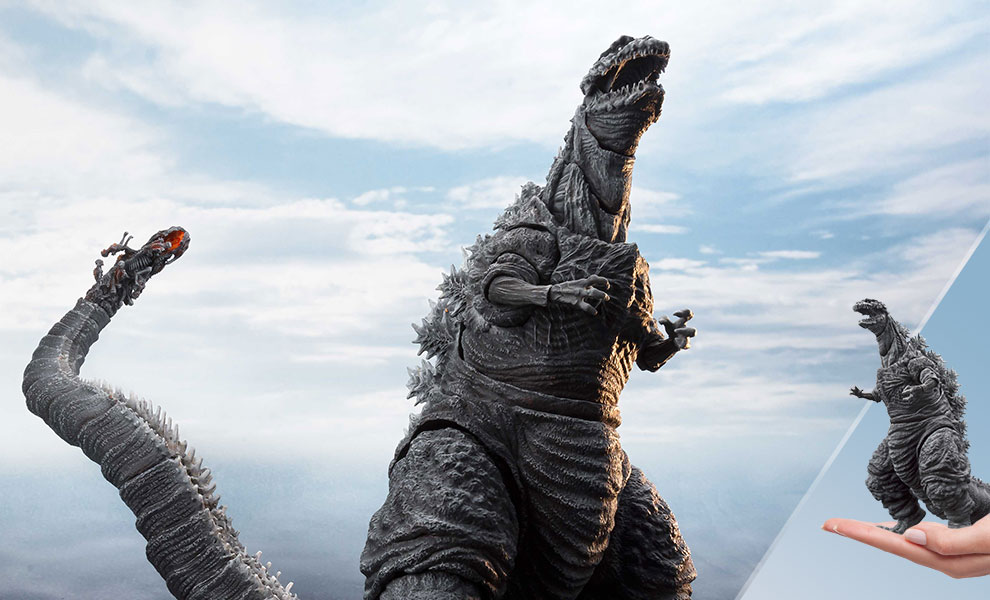 Gallery Feature Image of Godzilla (The Fourth Frozen Version) Collectible Figure - Click to open image gallery