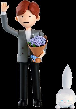 SeokJin Designer Toy