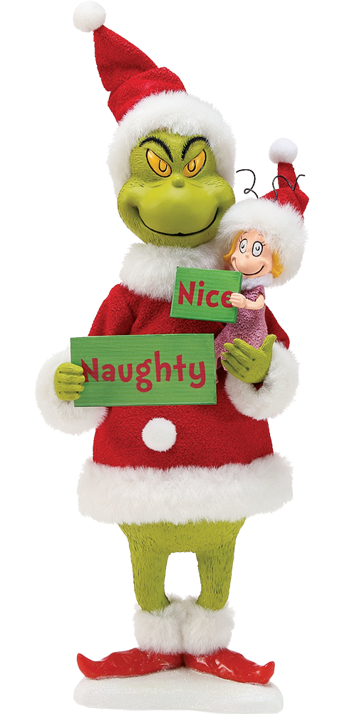 Department 56 Grinch Naughty or Nice Figurine