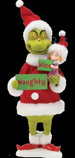 Grinch Naughty or Nice Figurine