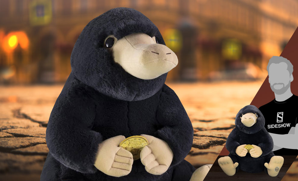 Gallery Feature Image of Giant Niffler Premium Plush - Click to open image gallery