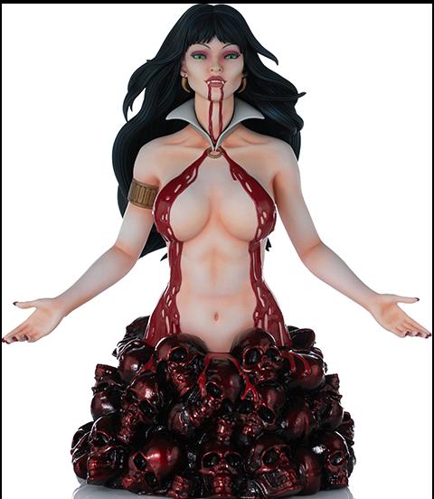 Dynamite Entertainment Vampirella (Red Reign Variant) Bust
