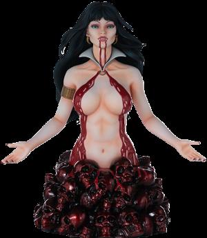 Vampirella (Red Reign Variant) Bust