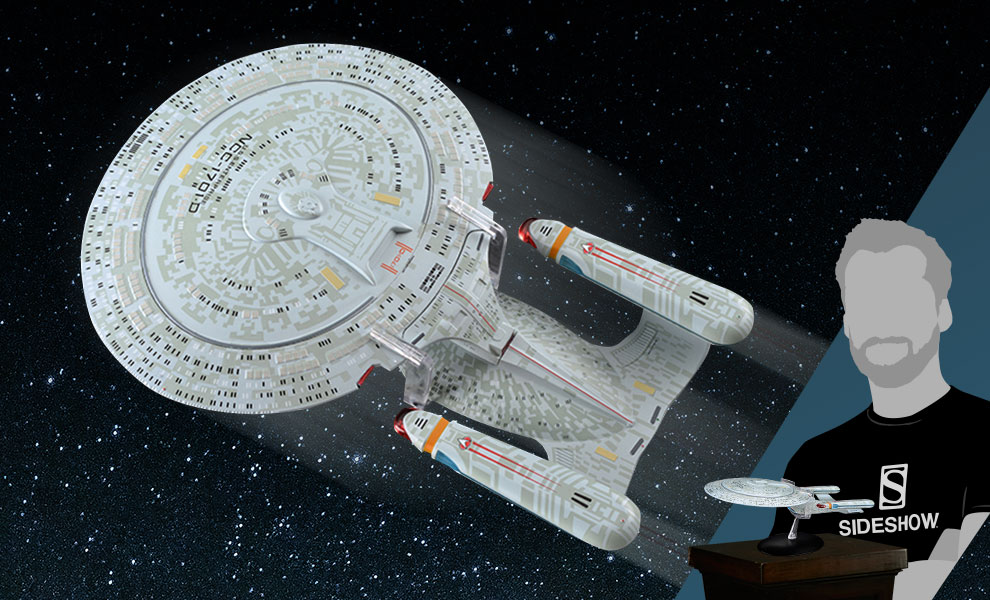 Gallery Feature Image of USS Enterprise NCC-1701-D Model - Click to open image gallery