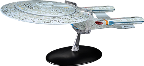 Eaglemoss USS Enterprise NCC-1701-D Model