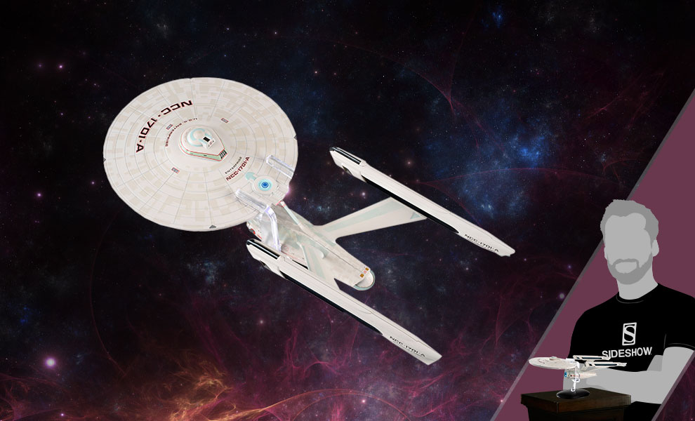Gallery Feature Image of USS Enterprise NCC-1701-A Model - Click to open image gallery