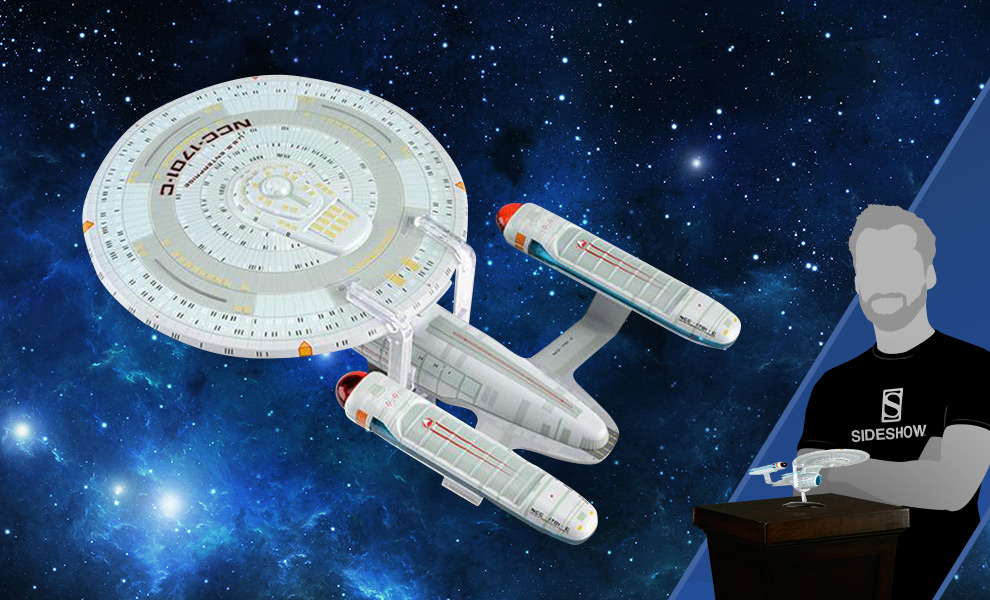 Gallery Feature Image of USS Enterprise NCC-1701-C Model - Click to open image gallery
