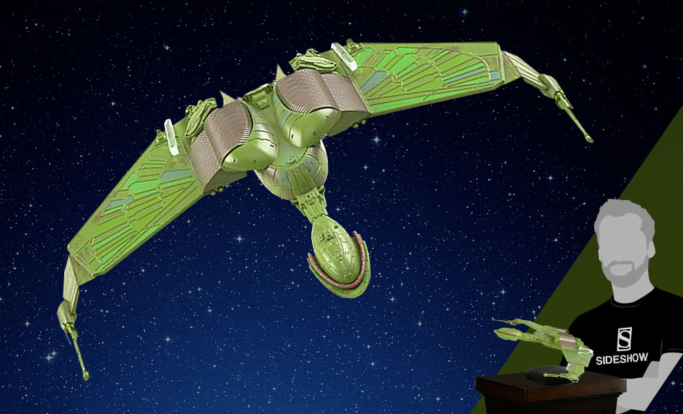 Gallery Feature Image of Klingon Bird-of-Prey Model - Click to open image gallery
