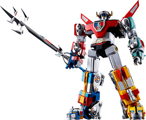 Bandai GX-71 Voltron Collectible Figure