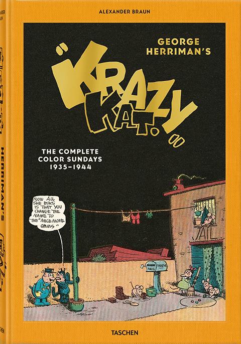 """TASCHEN George Herriman's """"Krazy Kat"""" Book"""