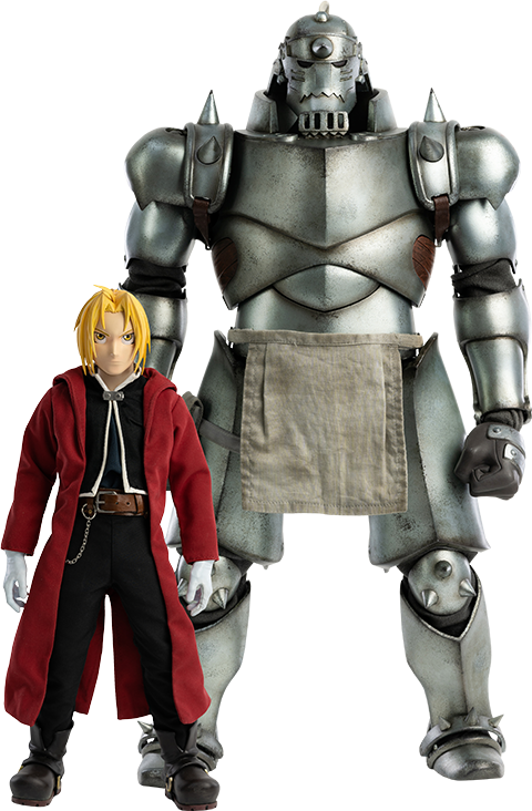 Threezero Alphonse Elric & Edward Elric (Twin Pack) Sixth Scale Figure Set