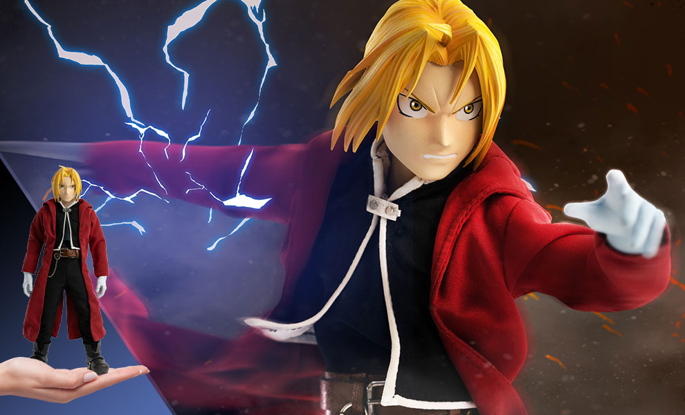 Gallery Feature Image of Edward Elric Sixth Scale Figure - Click to open image gallery