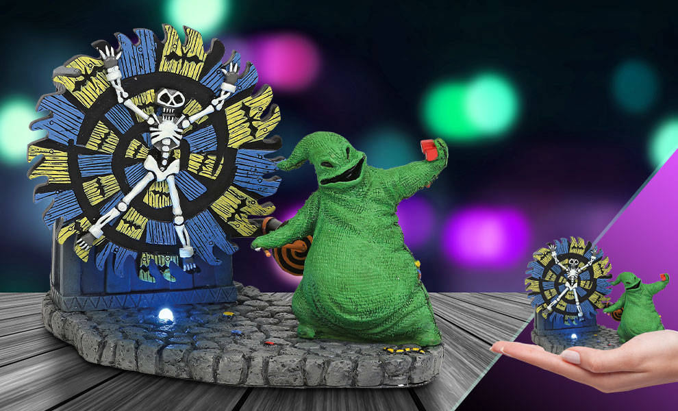 Gallery Feature Image of Oogie Boogie Gives a Spin Figurine - Click to open image gallery