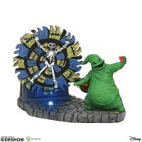 Gallery Image of Oogie Boogie Gives a Spin Figurine