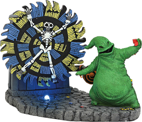 Department 56 Oogie Boogie Gives a Spin Figurine