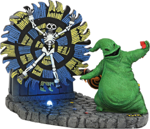 Oogie Boogie Gives a Spin Figurine