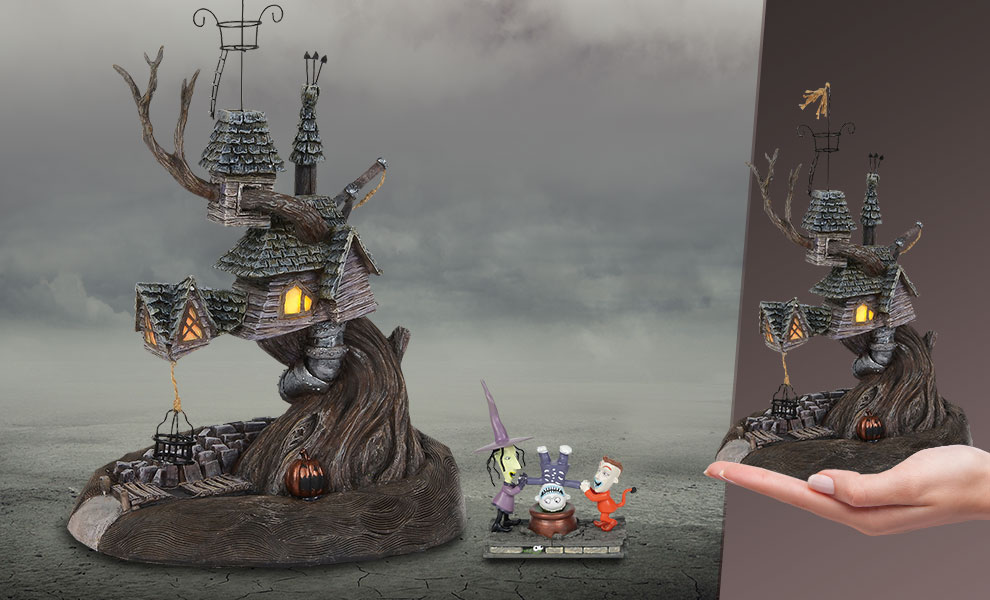 Gallery Feature Image of Lock, Shock & Barrel Treehouse Figurine - Click to open image gallery