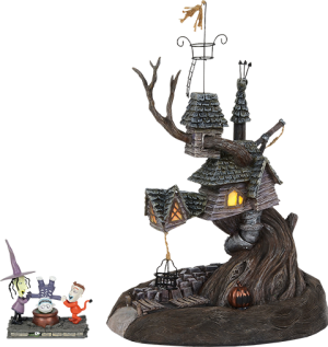 Lock, Shock & Barrel Treehouse Figurine