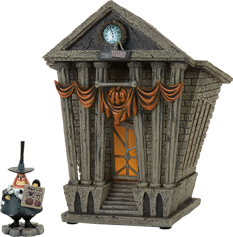 Department 56 Halloween Town City Hall Figurine
