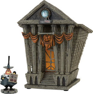 Halloween Town City Hall Figurine