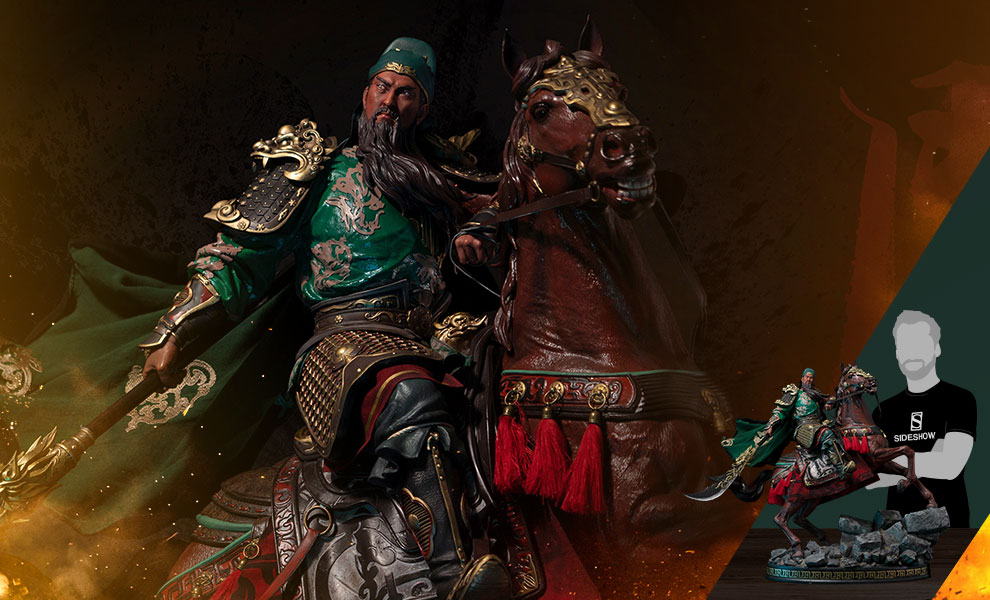 Gallery Feature Image of Guan Yu (Elite Edition) Statue - Click to open image gallery