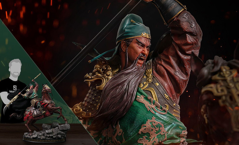 Gallery Feature Image of Guan Yu (Deluxe Edition) Statue - Click to open image gallery