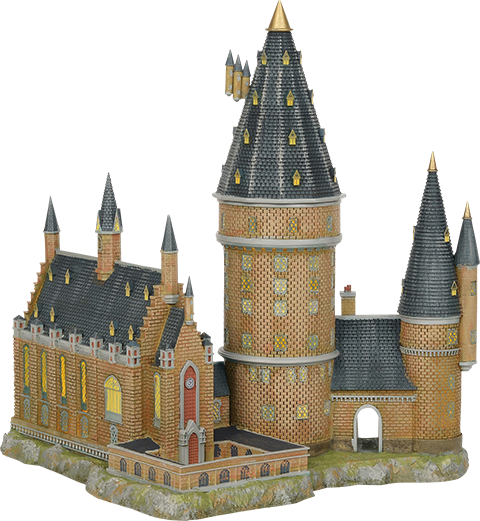 Department 56 Hogwarts Great Hall & Tower Figurine