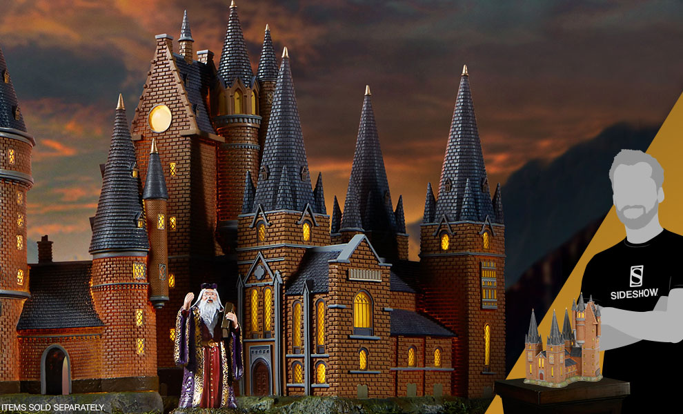 Gallery Feature Image of Hogwarts Astronomy Tower Figurine - Click to open image gallery