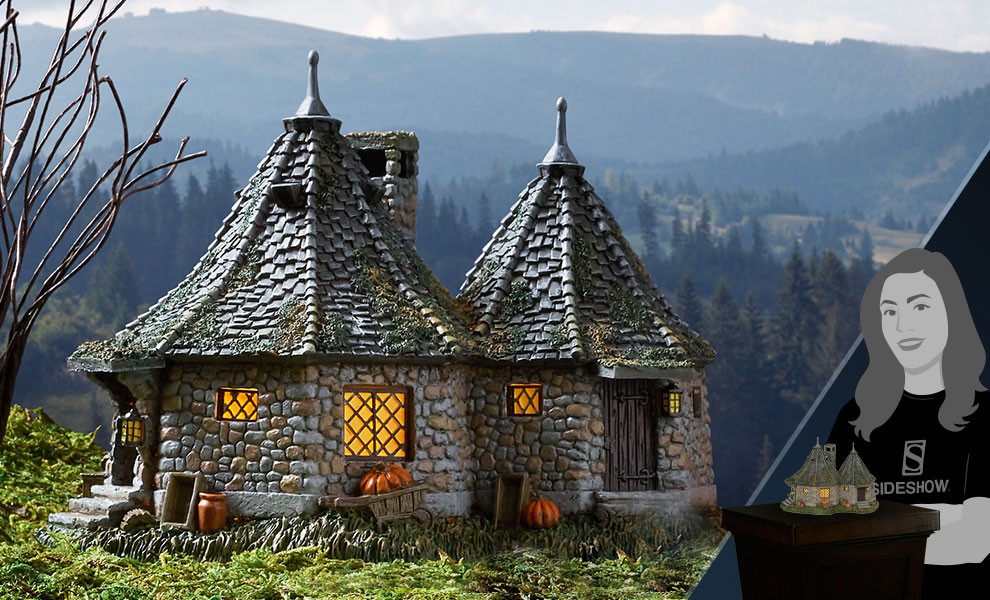 Gallery Feature Image of Hagrid's Hut Figurine - Click to open image gallery
