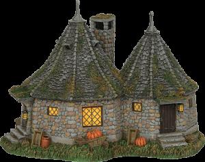 Hagrid's Hut Figurine