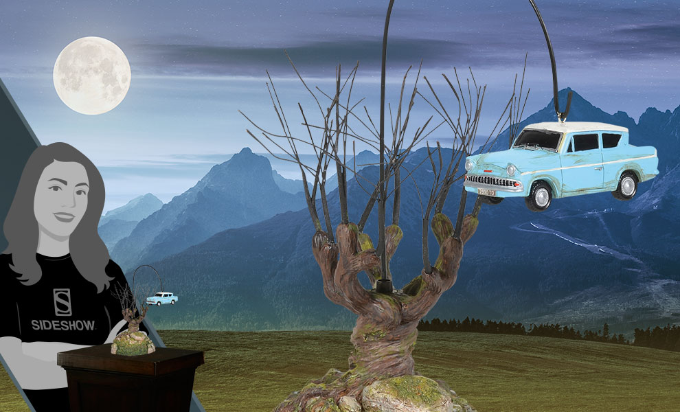 Gallery Feature Image of Whomping Willow Tree Figurine - Click to open image gallery